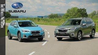 2020 Subaru Forester e-Boxer and XV e-Boxer