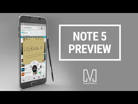 Samsung Galaxy Note 5 Preview