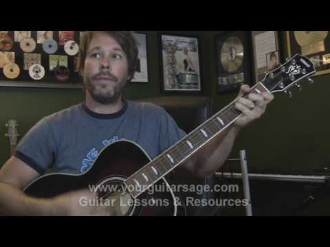 Guitar Lessons - Waiting On A Woman By Brad Paisley - Cover Chords Lesson Beginners Acoustic Songs video