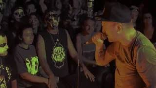 Mac Lethal Live In  Kansas City Performing Black Widow Spider