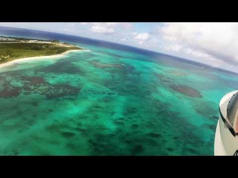 Bahamas In A Seaplane - Gopro