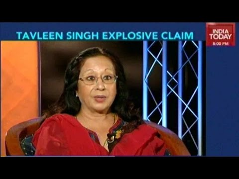 Nothing But The Truth: Tavleen Singh Explosive Claim