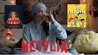 MY TOP NETFLIX RECOMMENDATIONS!! (best shows EVER)