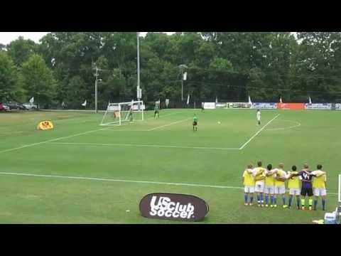 Sockers FC defeats FC Dallas Academy in PKs - 2014 NPL Finals