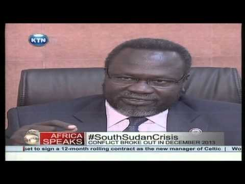 Dr. Riek Machar on South Sudan Crisis, Uganda & Salva Kiir
