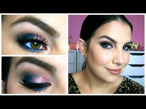 Smokey Rose & Navy Eye Tutorial