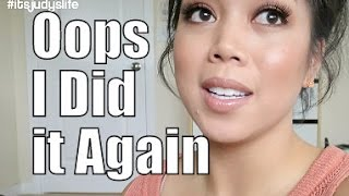 Oops I Did it AGAIN!!!- February 12, 2015 ItsJudysLife Vlogs
