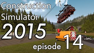 Oversided Train Delivery - Construction Simulator 2015 - EP:14