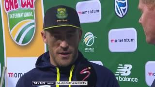 "Du Plessis savors ""best win"""