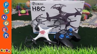 Review Eachine H8C Mini With 2MP Camera 2.4G by KidsW