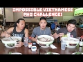 IMPOSSIBLE VIETNAMESE PHO CHALLENGE! 4LBS TURNED TO 6 LBS   PHO GARDEN