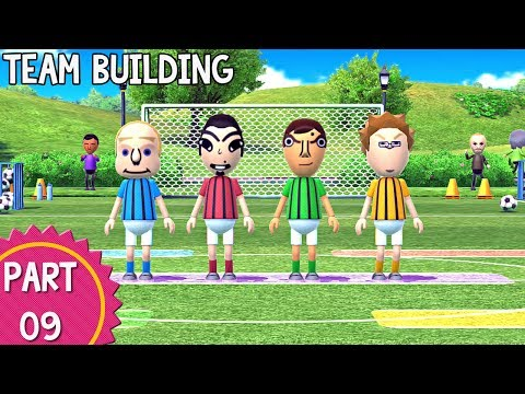 Wii Party U - Episode 09: Team Building