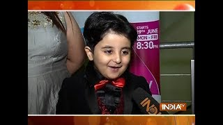 Paramavtar Shri Krishna actor celebrating 100 episodes of the show