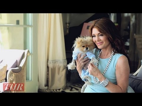 Lisa Vanderpump and Her Famous Pomeranian Giggy