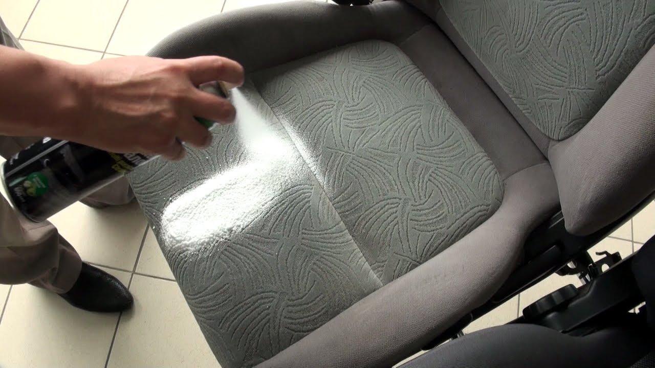 Чем очистить сиденья автомобиля от пятен в домашних условиях 990