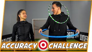 FOOTBALL ACCURACY CHALLENGE w/ AN NA