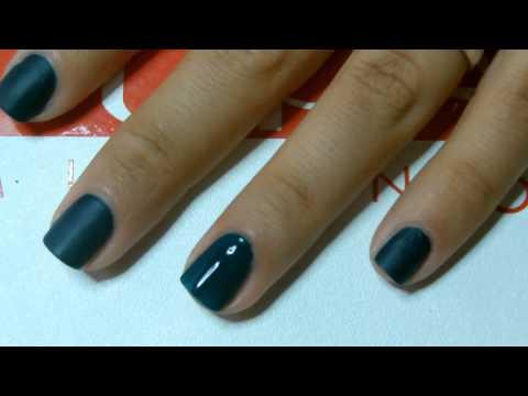 Come applicare lo smalto Matt   Manicure   Io amo le unghie curate per PUPA Nail Academy