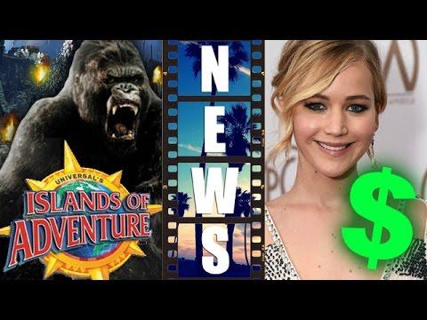 Skull Island at Universal Orlando, Jennifer Lawrence vs Sony - Beyond The Trailer