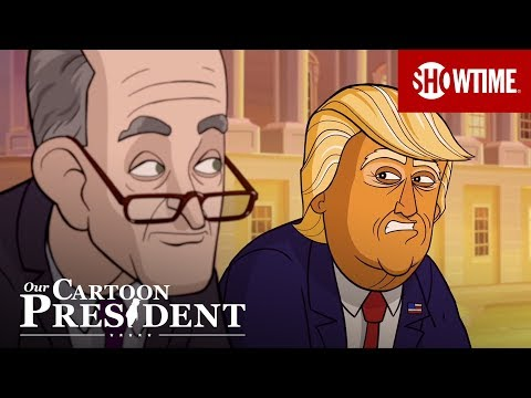 'You Sure Are A Chatterbox' Ep. 11 Official Clip | Our Cartoon President | SHOWTIME | Jared Kushner