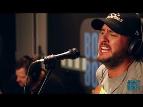 Luke Bryan Plays His New Single For Joy Week 2017