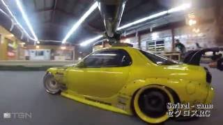 RC Drift Session at Lun Lun Drift Circuit Tobe, Japan