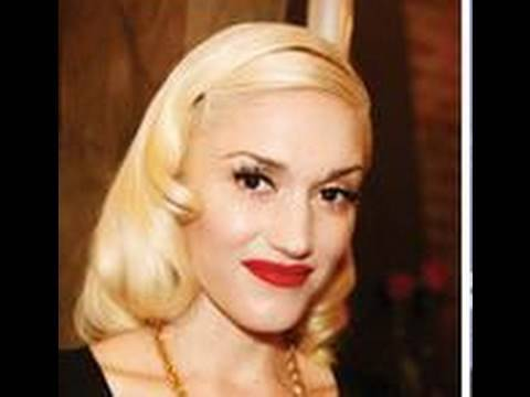 Gwen Stefani inspired pin up hair