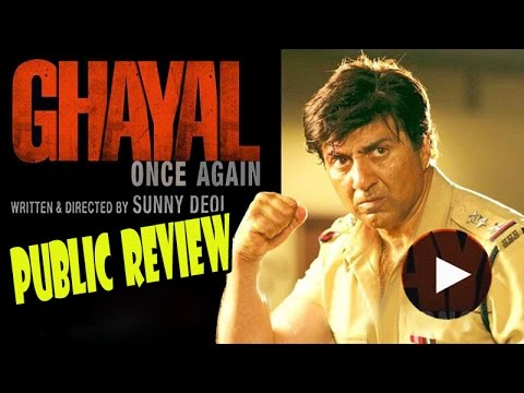 Ghayal Once Again Movie (2016) - Public Review - Sunny Deol