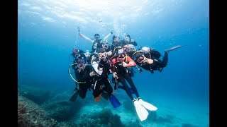 Scuba Diving at Phi Phi Island, Phuket, Thailand