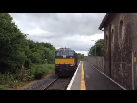 Irish Rail General Motors 078 light engine on driver training at Collooney 20-6-2016