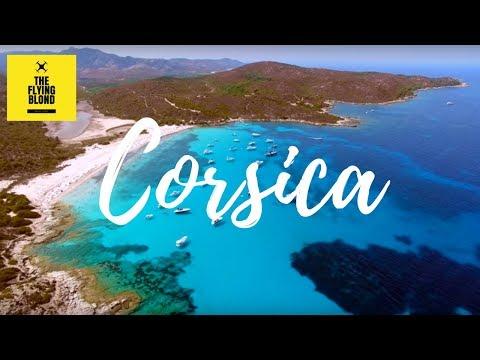 Corsica beaches - Drone flight