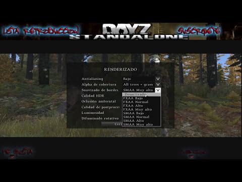 DayZ Standalone | Mejorar rendimiento y creacion de personaje