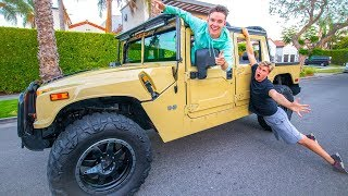 STEALING MY BEST FRIEND'S CAR w/ Carter Sharer