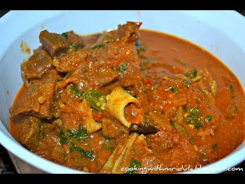 Andhra Mutton Curry - Mutton Pulusu w/ English Subtitiles