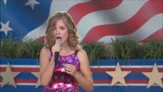 "Jackie Evancho ""The National Anthem"" A Capitol 4th 2013 HD"
