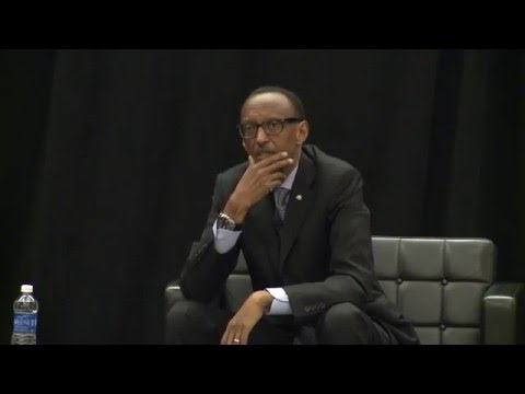 Rwanda President Paul Kagame on France arrogance