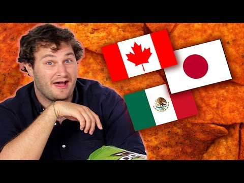 International Doritos Taste Test