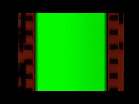 Film Strip Animation Green Screen Old Movie Style Royalty Free Video Effect Footage AA VFX