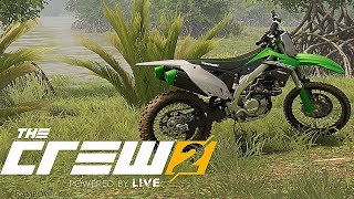 The Crew 2 Dirt Bike Snow and Jumps