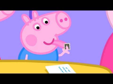 Peppa Pig Full Episodes | Stamps | Cartoons for Children