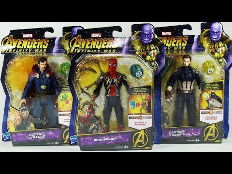Marvel Avengers Toys Captain America Iron Spider (Spiderman) Doctor Strange