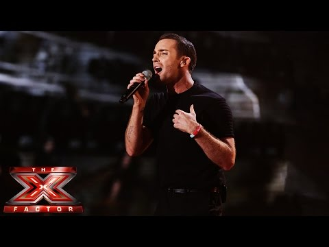 Jay James sings The Show Must Go On by Queen on The X Factor