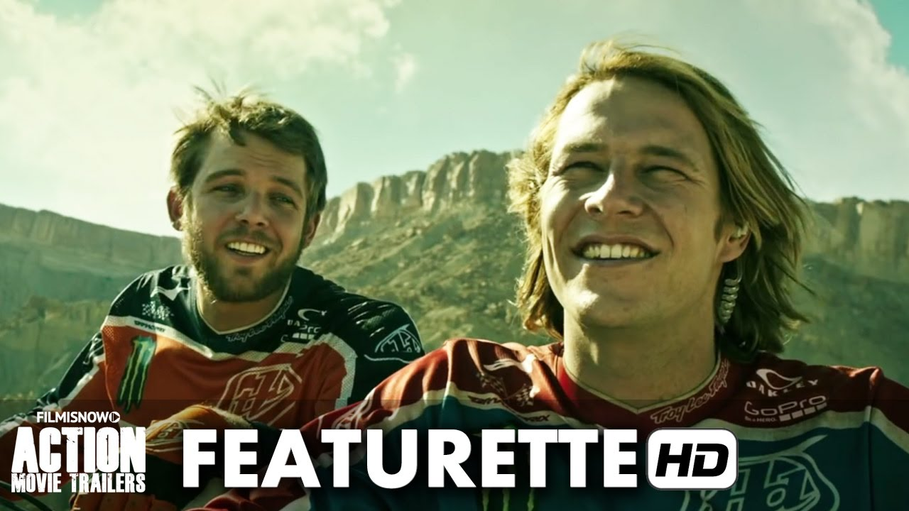 POINT BREAK Featurette 'Motocross' - Luke Bracey Action Movie HD