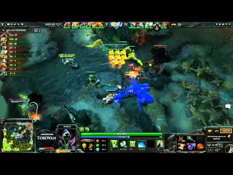 zRage vs NextKZ Game 1  StarLadder VI DOTA 2 - Tobi Wan