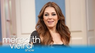 Elizabeth Hurley on Her Relationship With Hugh Grant! | The Meredith Vieira Show