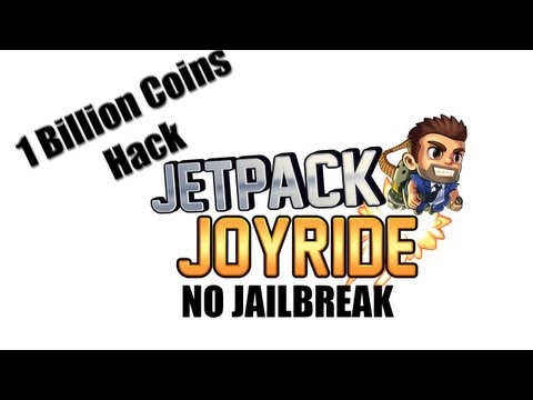 Jetpack Joyride Hack - Billion Coins (NO JAILBREAK) iPhone. iPad and iPod Touch