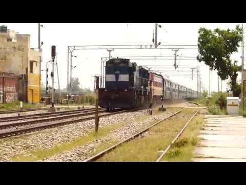Spj Wdm-3d With Dead Hwh Wap-4 Led Diverted Durgiana Sf Express On A Rampage! video