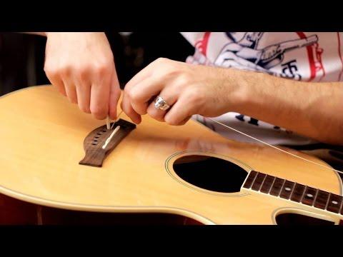 Настройка шести струнной гитар