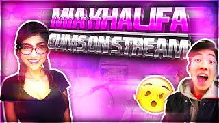 Mia Khalifa cums on stream!(RiceGum)
