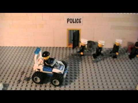 LEGO Police Force Epi. 1  Bank Robbery Music Videos