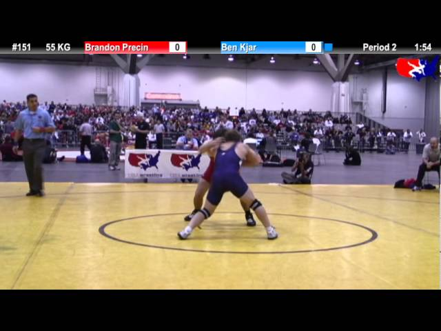 FS Qualifier 55kg: Ben Kjar vs. Brandon Precin Final
